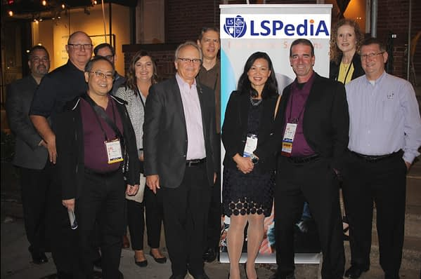 LSPediA clients and partners join us for dinner at HDA Traceability 2019