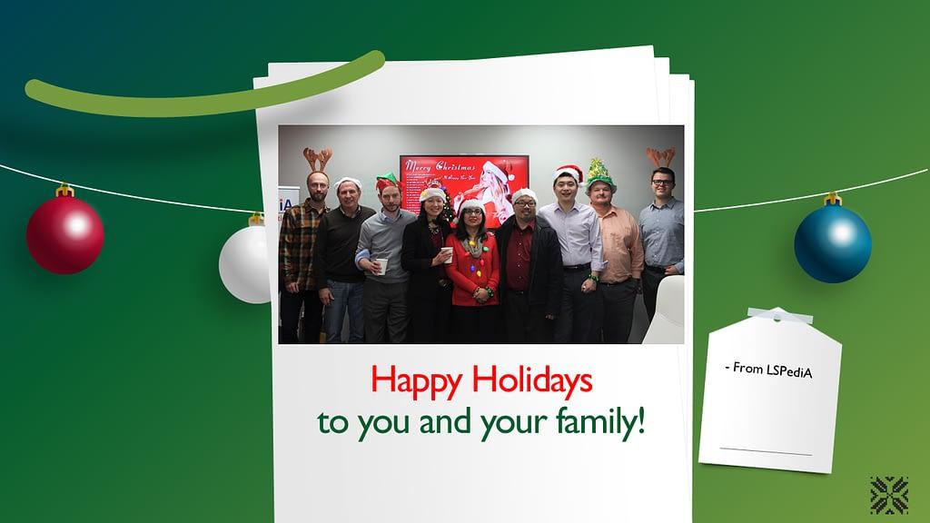 happy holidays from LSPediA 2019