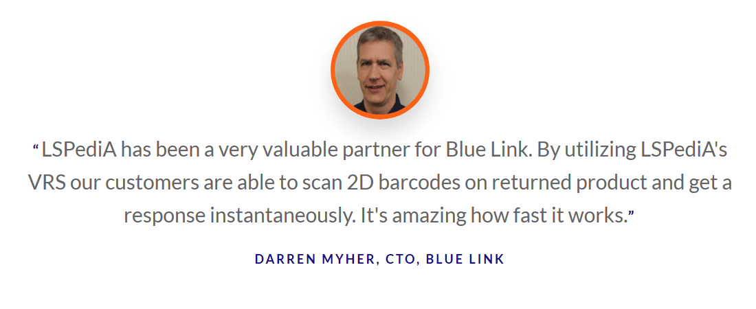 Darren Myher Blue Link quote block